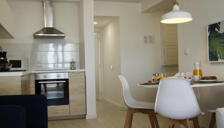 Caparica Sea View Apartment Living Room